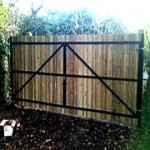 Steel Frame Gates